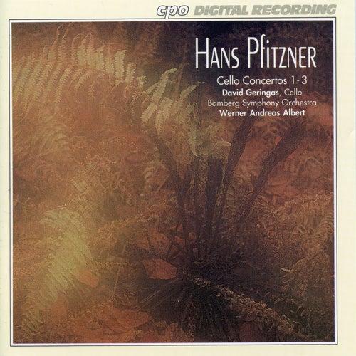 Pfitzner: Cello Concertos Nos. 1-3 de David Geringas