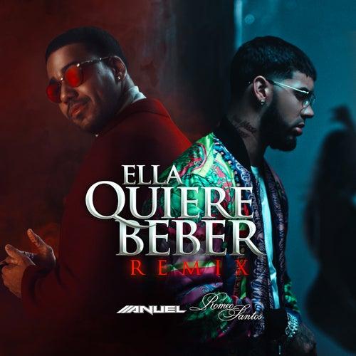 Ella Quiere Beber (Remix) de Anuel Aa