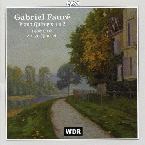 Fauré: Piano Quintets Nos. 1 & 2 von Peter Orth