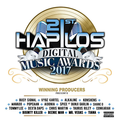 21st Hapilos Music Awards 2017 (Winning Producers Presents) : Top 21 Artist by Various Artists