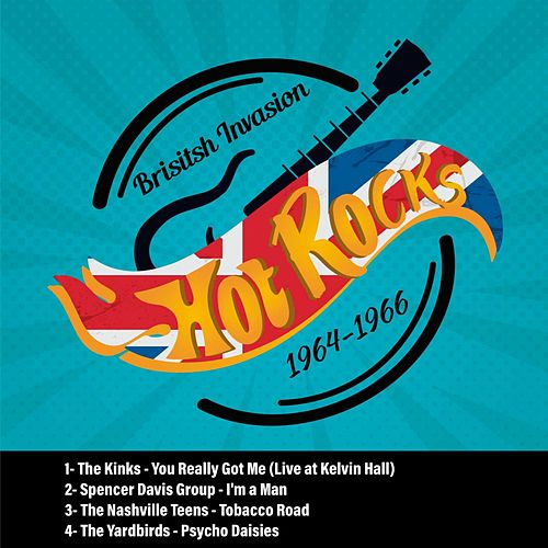 Hot Rocks (British Invasion / 1964-1968) de Various Artists