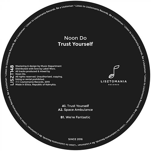 Trust Yourself - Single de Noon Do