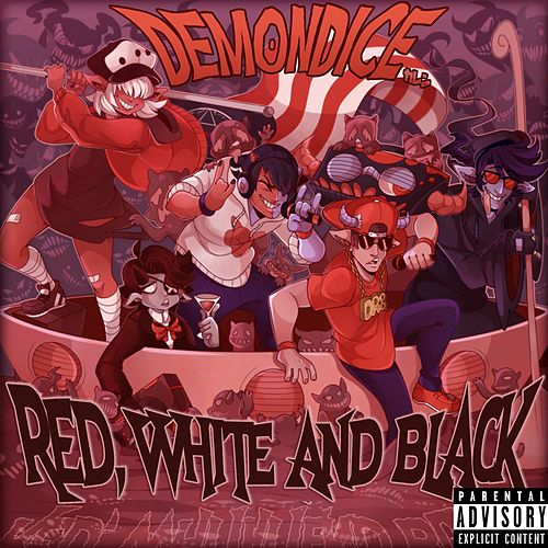 The Red, White and Black by Demondice