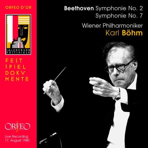 Beethoven: Symphonies Nos. 2 & 7 (Live) von Wiener Philharmoniker