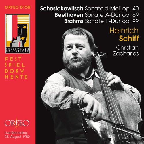 Beethoven, Brahms & Shostakovich: Cello Sonatas (Live) de Heinrich Schiff
