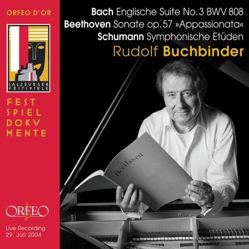 Bach, Beethoven & Schumann: Piano Works (Live) by Rudolf Buchbinder