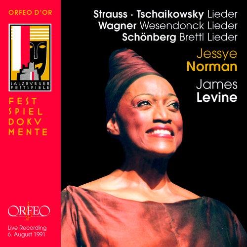 Strauss, Tchaikovsky, Wagner & Schoenberg: Lieder (Live) di Jessye Norman