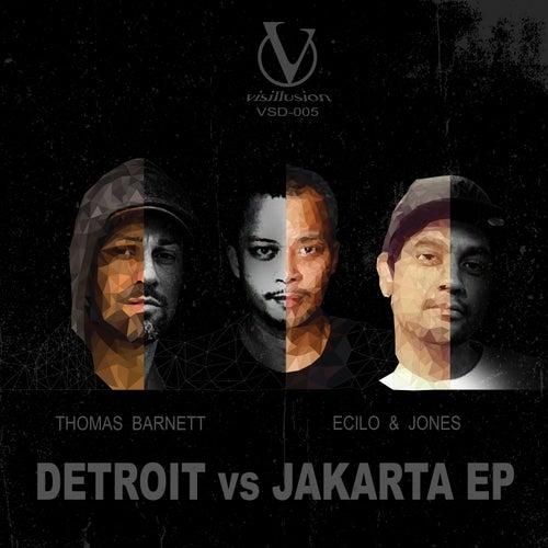 DETROIT vs JAKARTA EP by JONES