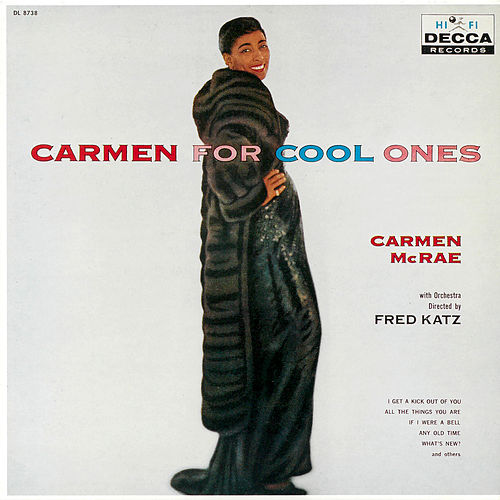 Carmen For Cool Ones by Carmen McRae