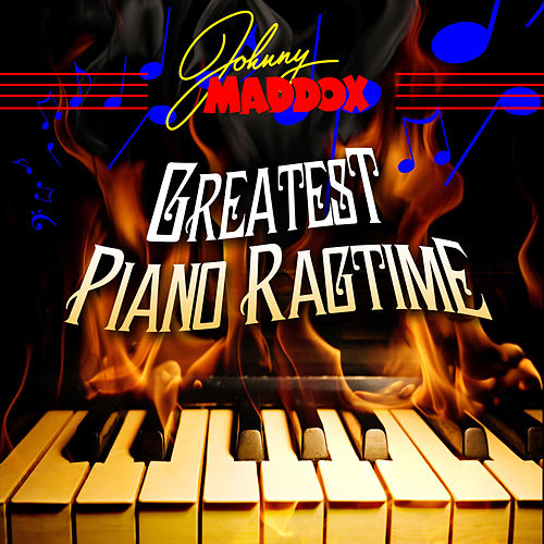 Greatest Piano Ragtime de Johnny Maddox
