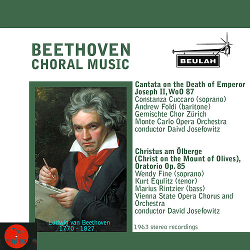 Beethoven: Choral Music de Various Artists
