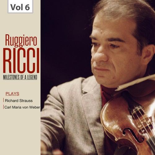 Milestones of a Legend: Ruggiero Ricci, Vol. 6 de Ruggiero Ricci