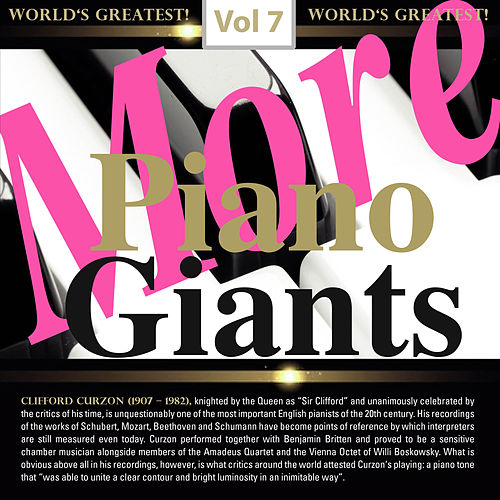 More Piano Giants, Vol. 7 de Various Artists