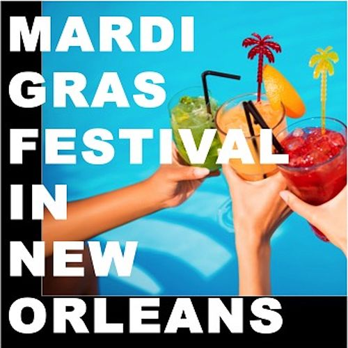 Mardis Gras Festival in New Orleans by Various Artists