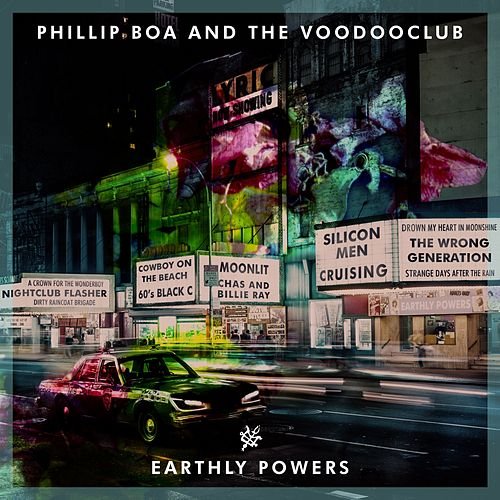 Earthly Powers von Phillip Boa & The Voodoo Club