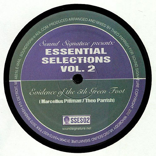 Essential Selections Volume 2 von Theo Parrish