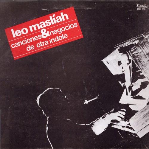 Canciones & Negocios de Otra índole by Leo Maslíah