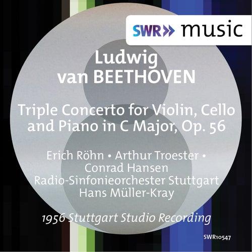 Beethoven: Triple Concerto, Op. 56 (Live) van Erich Röhn
