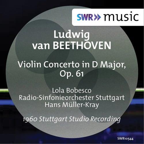 Beethoven: Violin Concerto, Op. 61 by Lola Bobesco