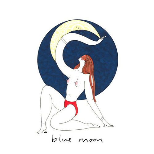 Blue Moon (nude) de Ashleigh Ball