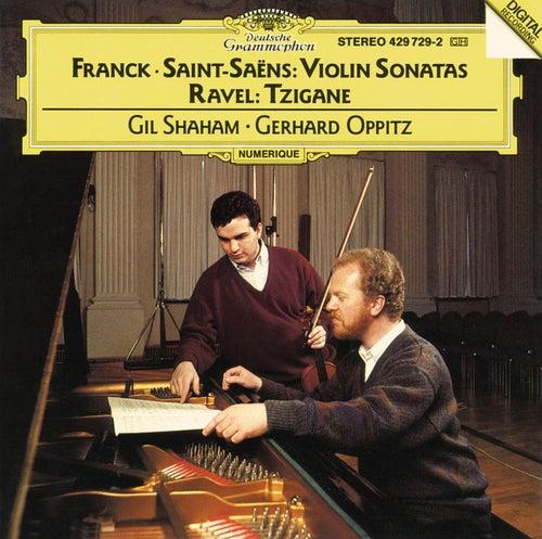 Franck / Saint Saens: Violin Sonatas; Ravel: Tzigane de Gil Shaham