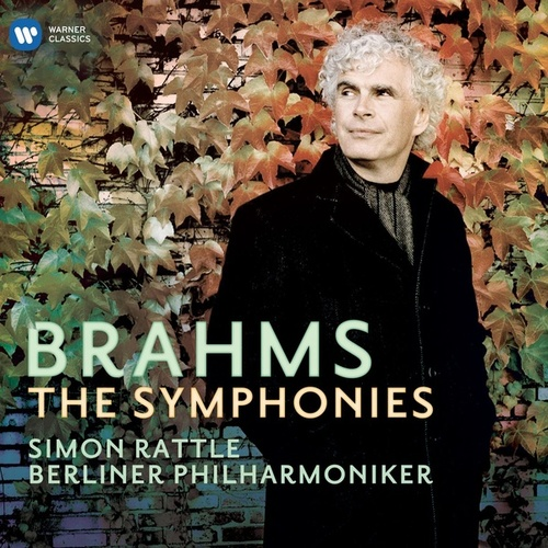 Brahms: Symphonies Nos 1-4 by Sir Simon Rattle