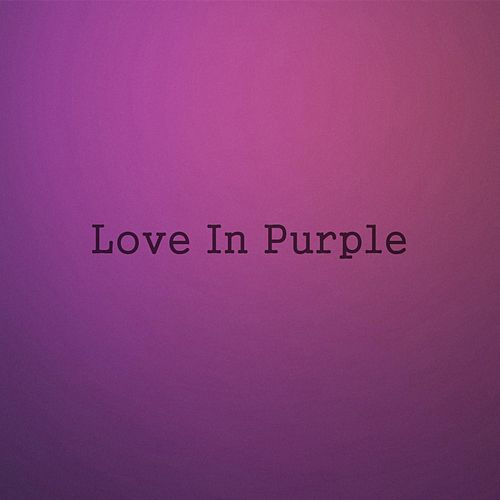 Love in Purple von Blackbird