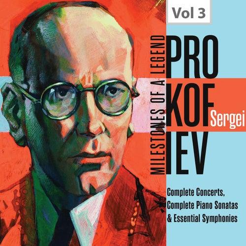 Milestones of a Legend: Sergei Prokofiev, Vol. 3 von Various Artists