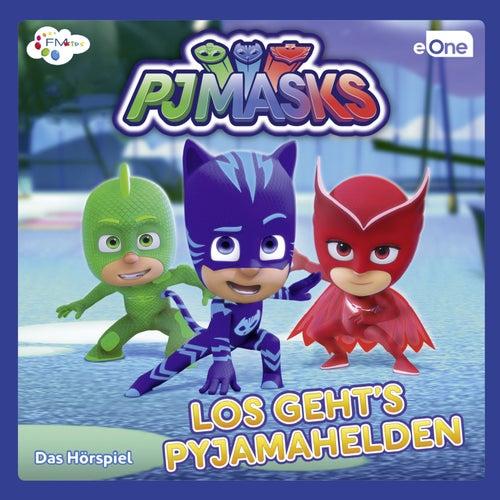Los geht's Pyjamahelden von PJ Masks