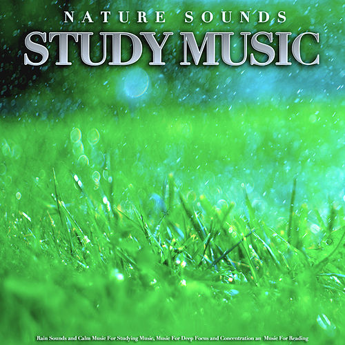 Nature Sounds Study Music: Rain Sounds and Calm Music For Studying Music, Music For Deep Focus and Concentration an Music For Reading by Einstein Study Music Academy (1)