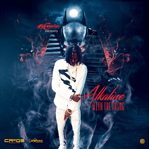 With the Thing - Single von Alkaline