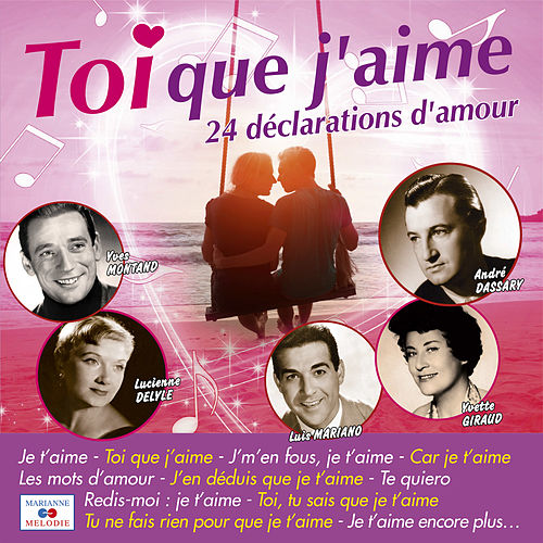 Toi que j'aime by Various Artists