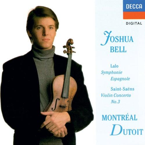 Saint-Saëns: Violin Concerto No. 3 / Lalo: Symphonie espagnole von Joshua Bell