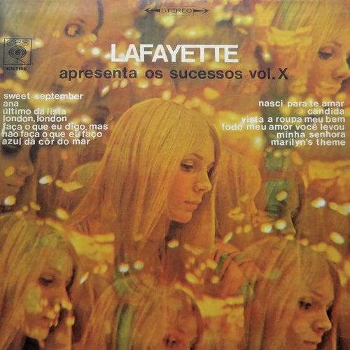 Lafayette Apresenta os Sucessos Vol. X von Lafayette
