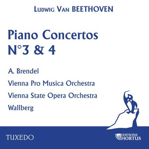 Beethoven: Piano Concerto N°3 & 4 de Vienna Pro Music Orchestra