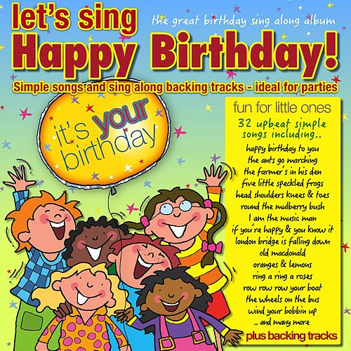 Let's Sing Happy Birthday by Kidzone