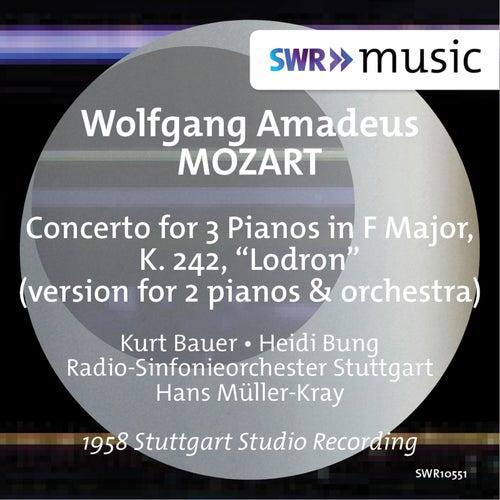 Mozart: Piano Concerto No. 7 in F Major, K. 242 'Lodron' (Version for 2 Pianos & Orchestra) de Kurt Bauer