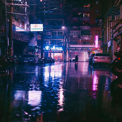 3 a.m Rain by Reckoner