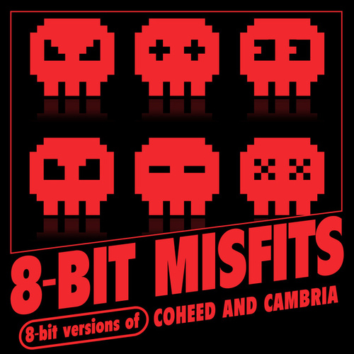 8-Bit Versions of Coheed and Cambria de 8-Bit Misfits