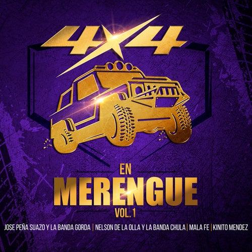 4x4 en Merengue, Vol. 1 de Various Artists