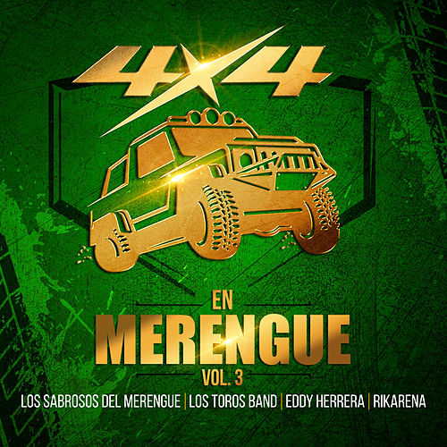 4x4 en Merengue, Vol. 3 by Various Artists