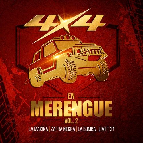 4x4 en Merengue, Vol. 2 de Various Artists