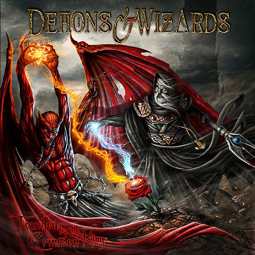 Touched By The Crimson King (Remasters 2019) (Deluxe Edition) by Demons & Wizards