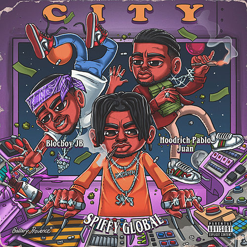 In The City (feat. BlocBoy JB & HoodRich Pablo Jaun) by Spiffy Global