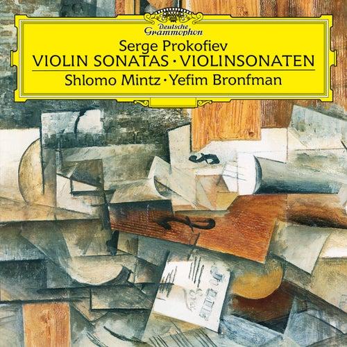 Prokofiev: Sonata for Violin and Piano No. 1 in F Minor - Sonata for Violin and Piano No. 2 in D de Shlomo Mintz