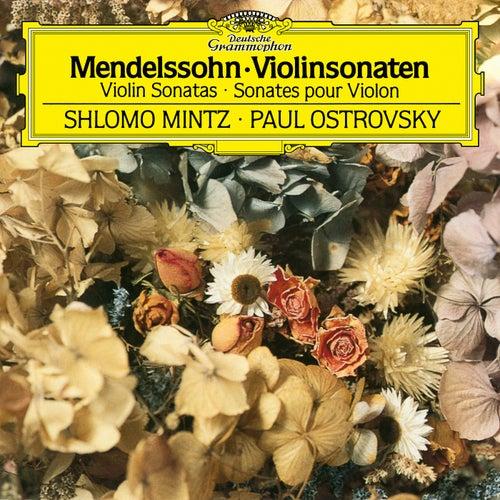 Mendelssohn: Violin Sonata in F Major, MWV Q12 - Sonata in F Major for Violin and Piano, MWV Q26 de Shlomo Mintz