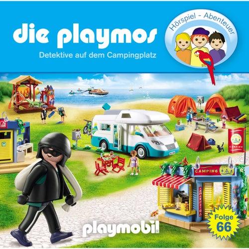 Folge 66: Detektive auf dem Campingplatz (Das Original Playmobil Hörspiel) von Die Playmos