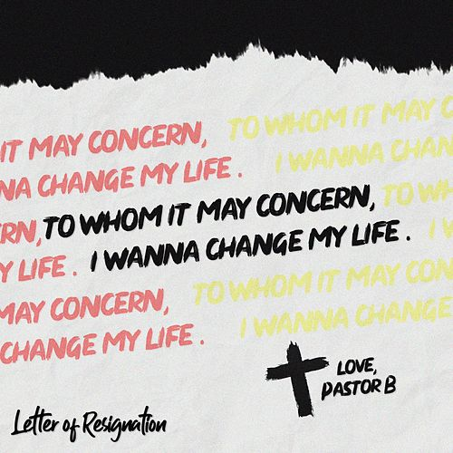 Letter of Resignation von Pastor B