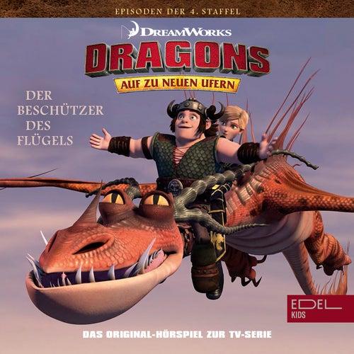 Folge 39: Die Beschützer des Flügels - Teil 1 + 2 (Das Original-Hörspiel zur TV-Serie) von Dragons - Auf zu neuen Ufern