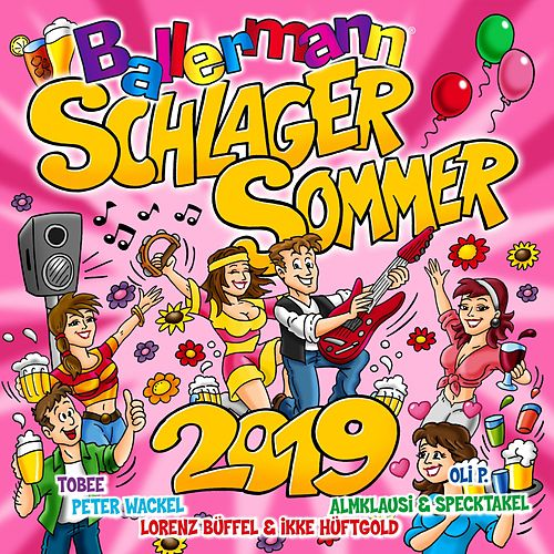 Ballermann Schlager Sommer 2019 von Various Artists